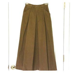 Vintage Woolrich Heavy Cotton Twill skirt